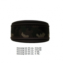 halsband, legergroen, leger groen, leger halsband, groen, stoere halsband, leger motief, legerprint
