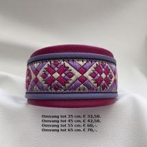 roze halsband, vrolijke halsband, Afghaanse windhond, cockerspaniël