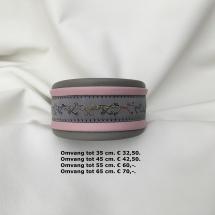 windhond motief halsband